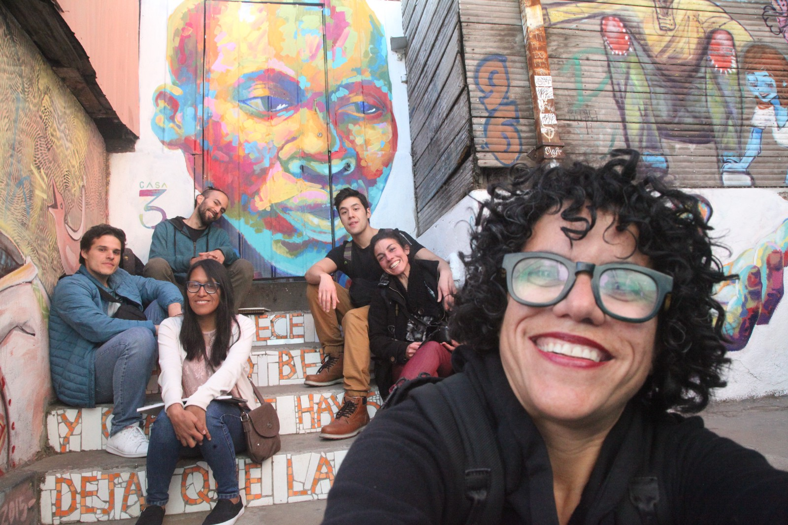 Bea Ramos (front right) regularly travels the world to engage directly with the artists in the Dada community. She knows their families, their personal challenges, and their failures and successes. I don't think you will see Zuckerberg traveling halfway around the world to show up at your door to cook a meal with you anytime soon.