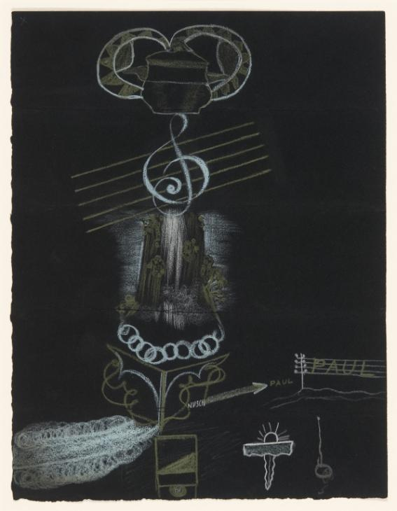 André Breton, Nusch Eluard, Valentine Hugo, Paul Eluard