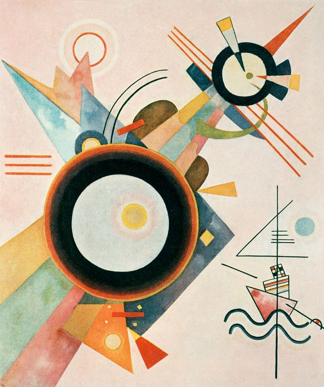 Arrowhead Picture -  Wassily Kandinsky, 1923