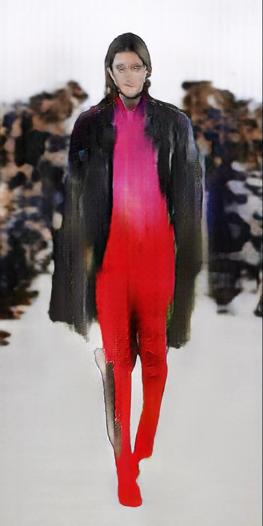 AI Fashion - Robbie Barrat, 2018
