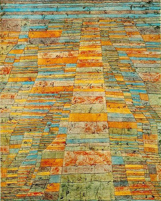 Highway and Byways  - Paul Klee, 1928