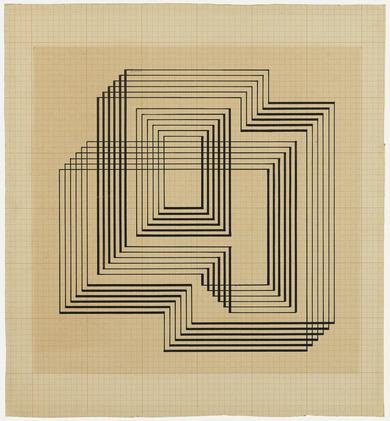 Concentric Squares  - Josef Albers, 1941