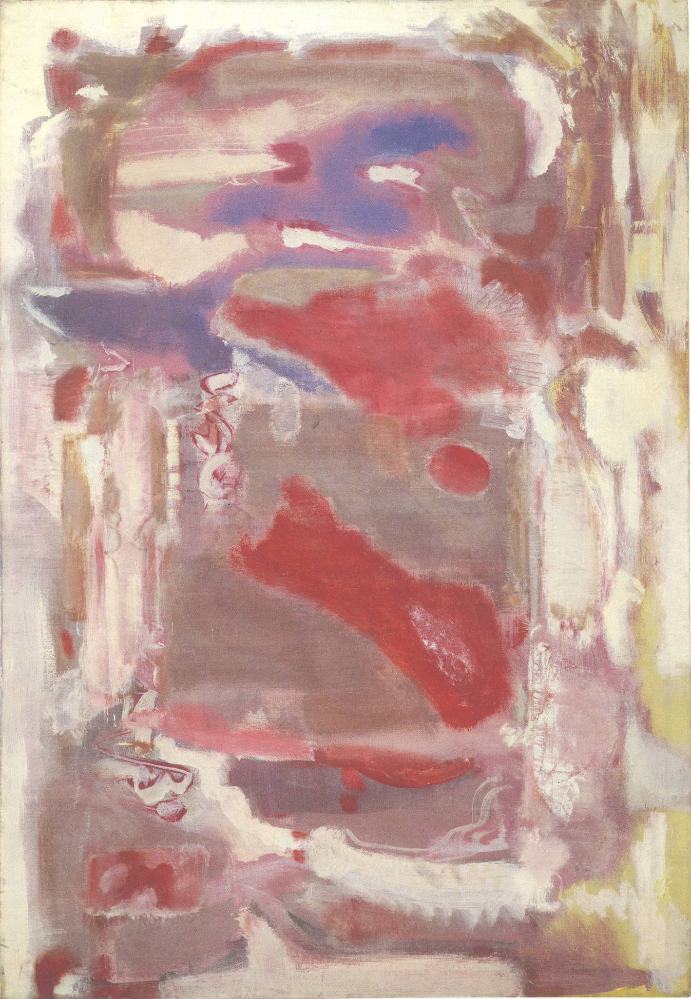 No. 18,  Mark Rothko, 1946, oil on canvas, 155 x 110 cm
