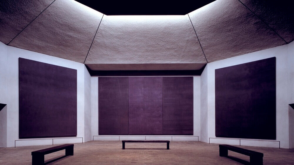 Mark Rothko,  Rothko Chapel , 1964-1967 Houston Texas