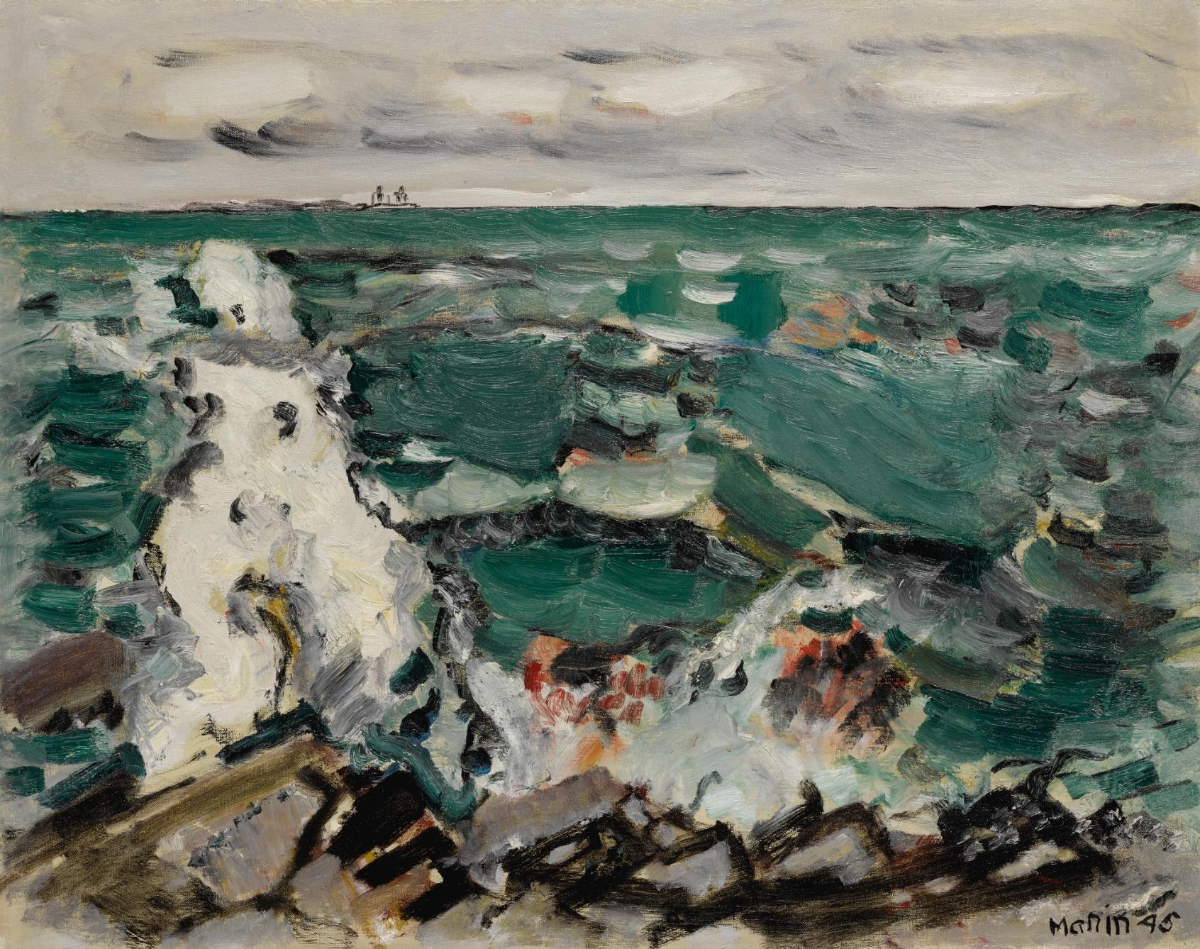 Cape Split, Maine , John Marin, 1945