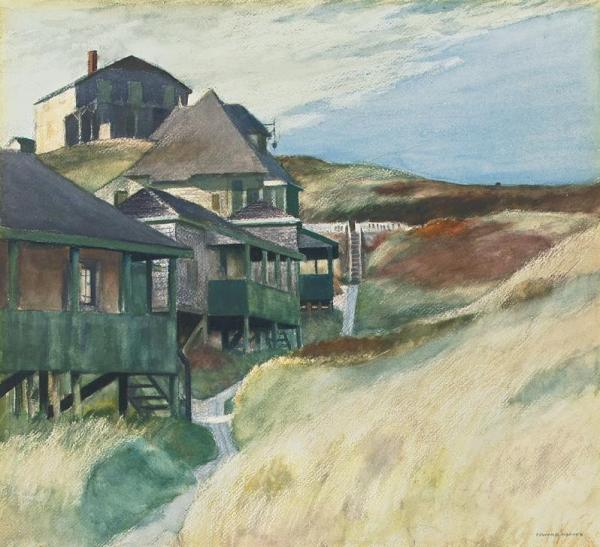 Shacks at Pamet Head,  Edward Hopper, 1937