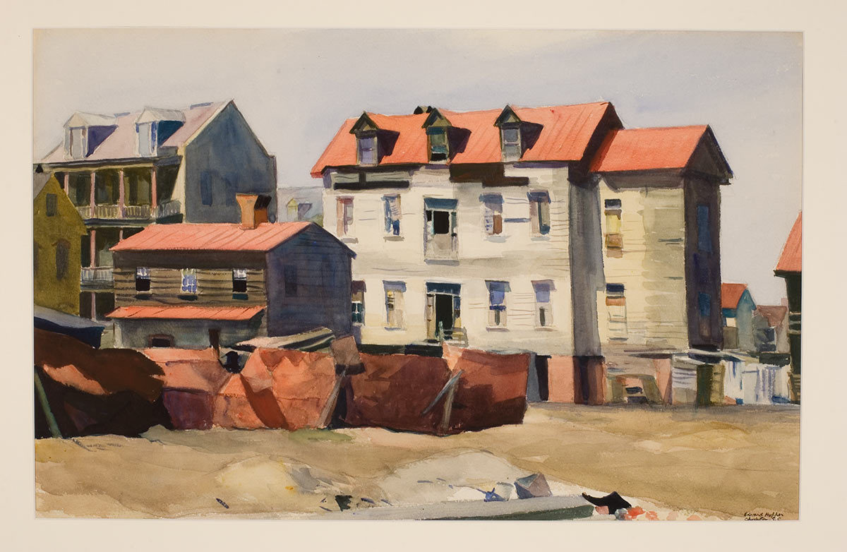 Charleston Slum  - Edward Hopper, 1929