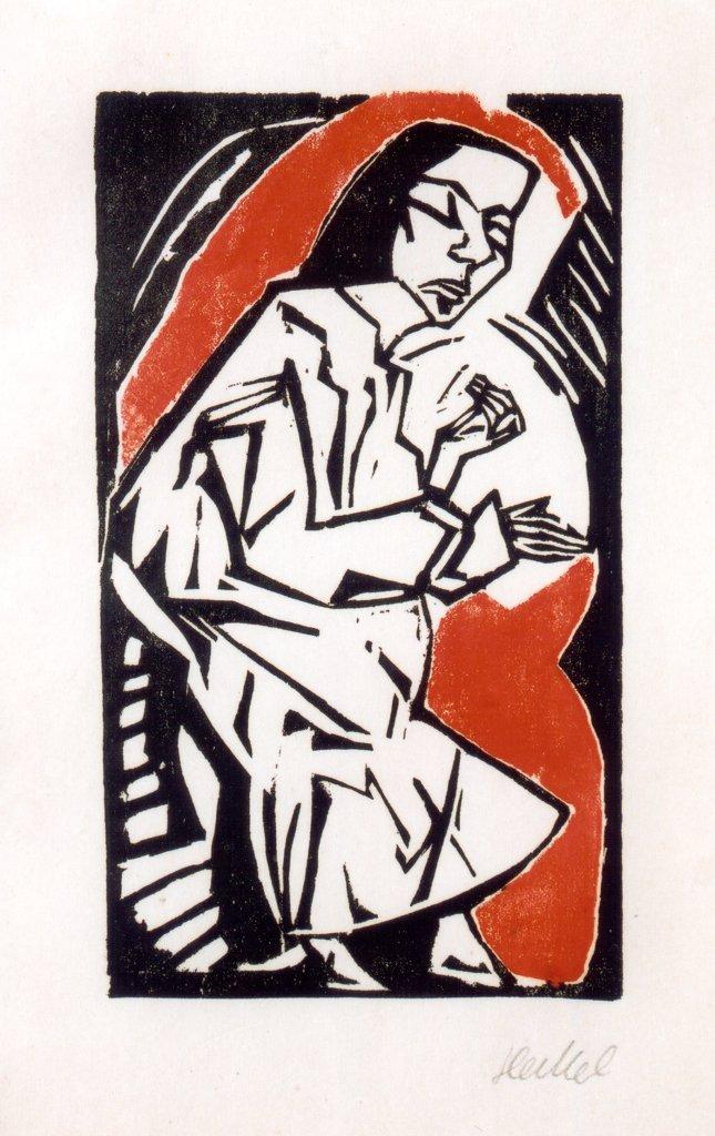 Woman , Erich Heckel, 1925