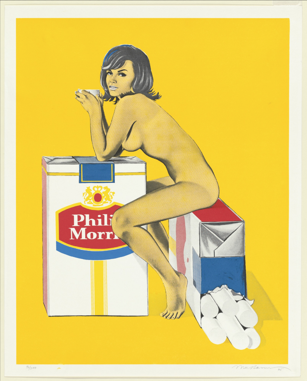 Tobacco Rose,  Mel Ramos, 1965, published 1966 ( image courtesy of MoMA)