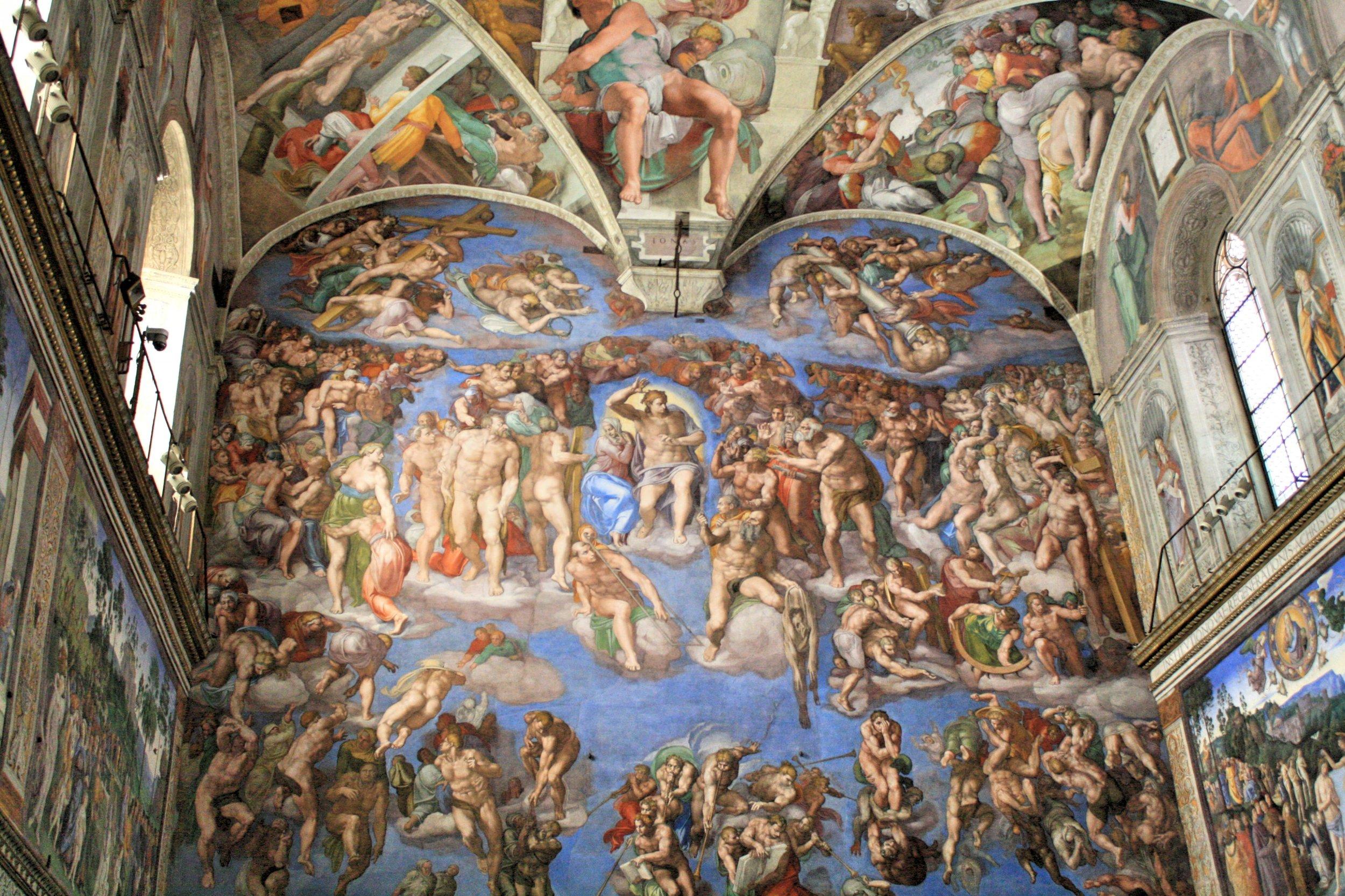 Sistine Chapel , Michelangelo, 1508