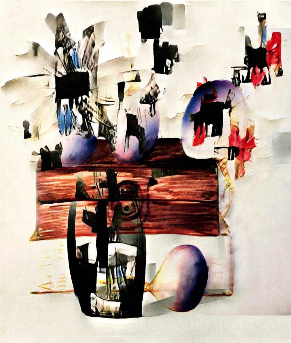 Am I Dali yet?,  Helena Sarin, 2018 (Collection of Jeremy Howard)