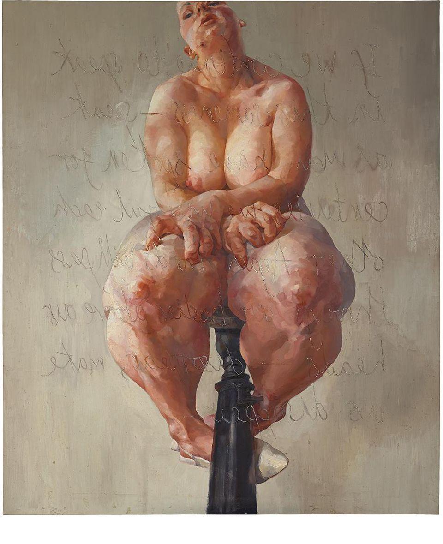 Propped , Jenny Saville, 1992