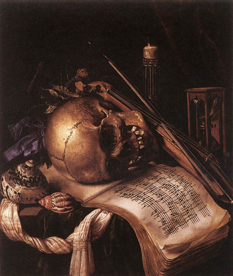 Simon Renard de St. André, Vanitas. Unknown.