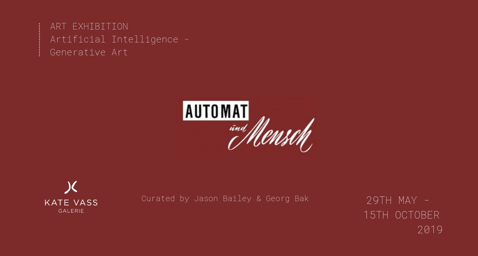 Invitation for Automat Und Mensch (Man and Machine)