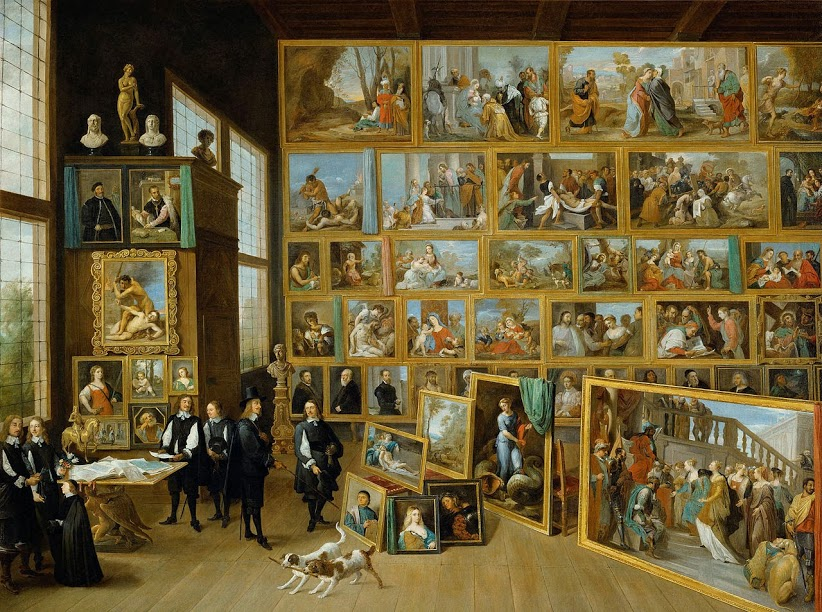 The Art Collection of Archduke Leopold Wilhelm in Brussels, David Teniers the Younger, 1650