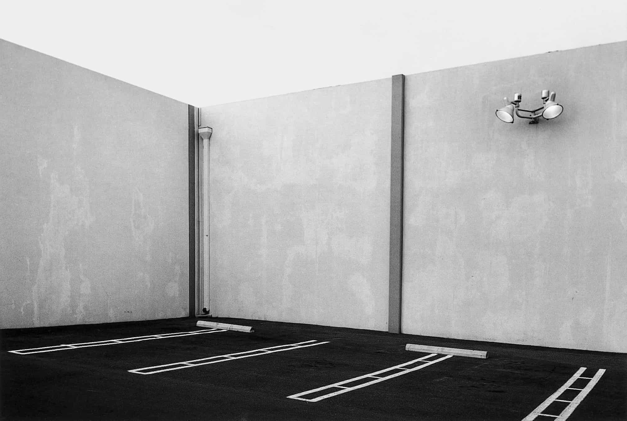 Lewis Baltz,  South Corner, Parking Area, 23831 El Toro Road, El Toro  (1973)