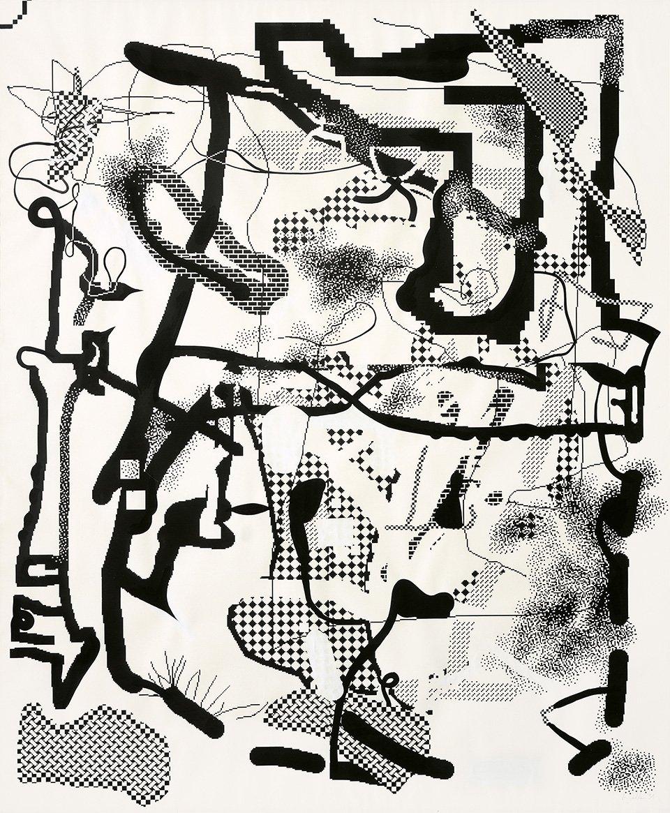 Albert Oehlen's  Prix Ars Electronica  (1991)