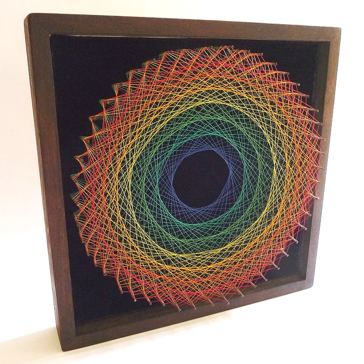 1970s symmography string art