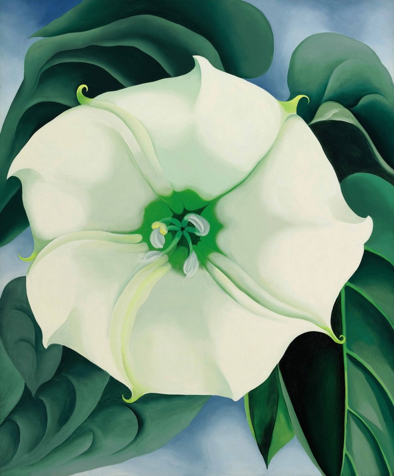 Georgia O'Keeffe,  Jimson Weed/White Flower No. 1  (1932) sold for $44.4 million