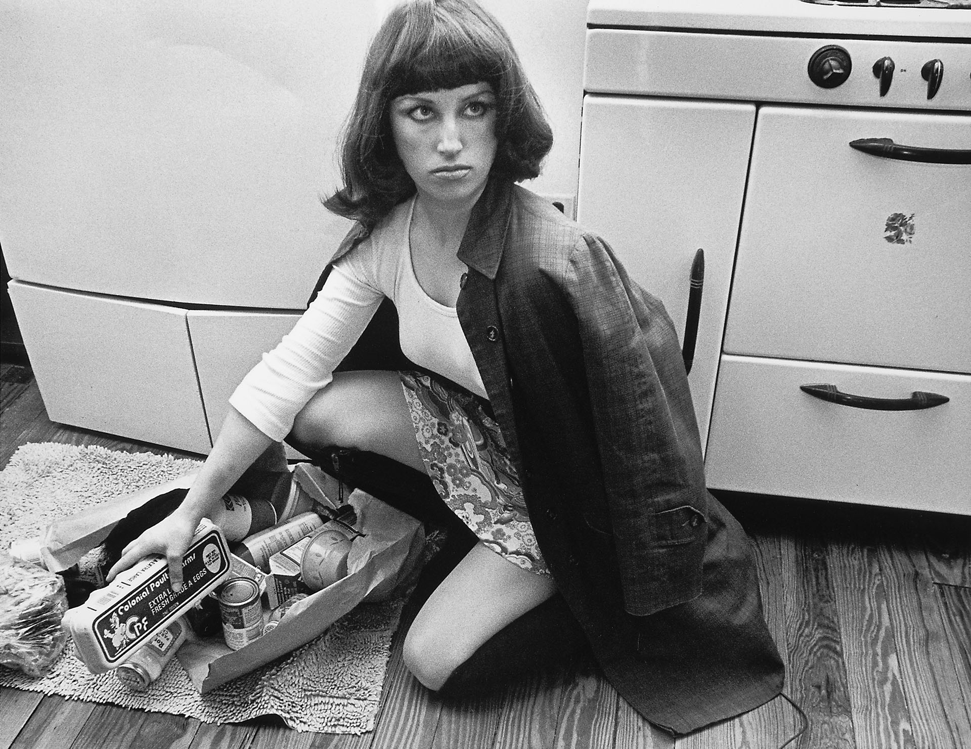 Cindy Sherman,   Untitled Film Still #10   ,  gelatin silver print, 1978. Sold for $225,000