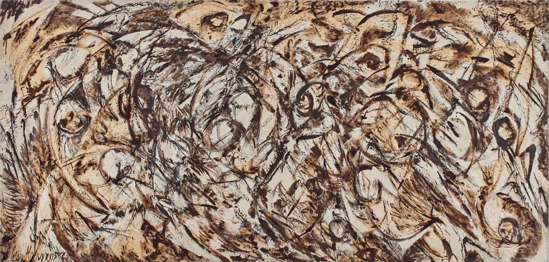 Lee Krasner's  The Eye Is the First Circle , 1960, sold for $11.7 million.
