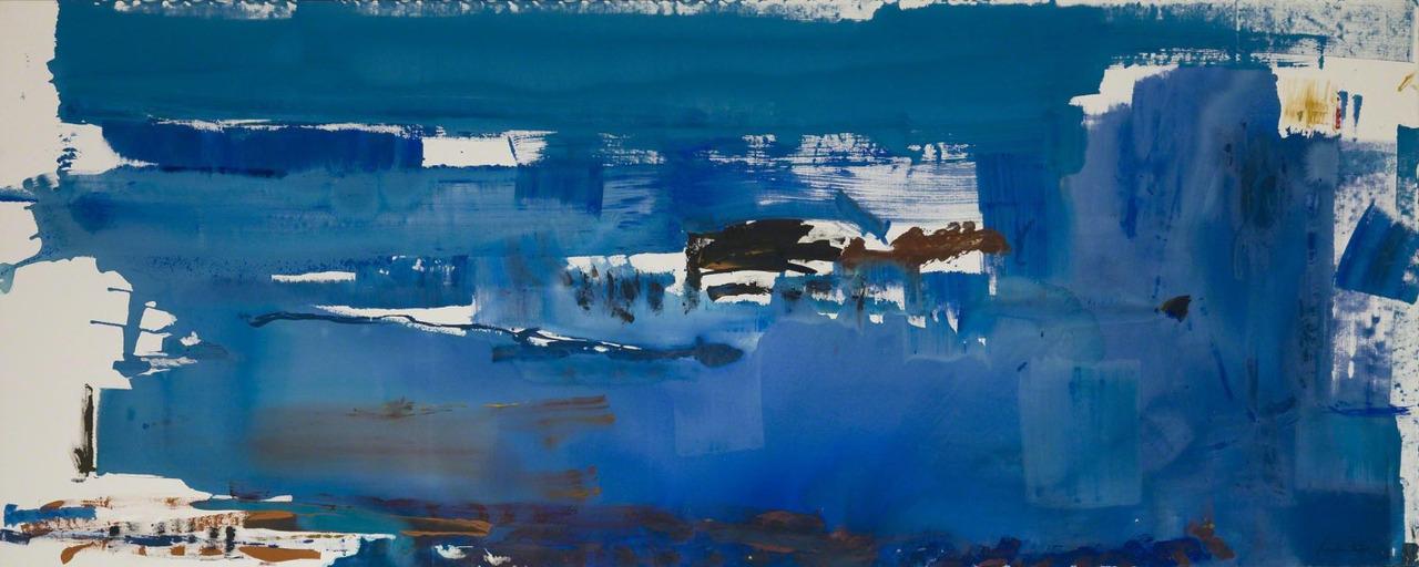 Helen Frankenthaler,  Blue Reach  , 1978. Sold for $3 million