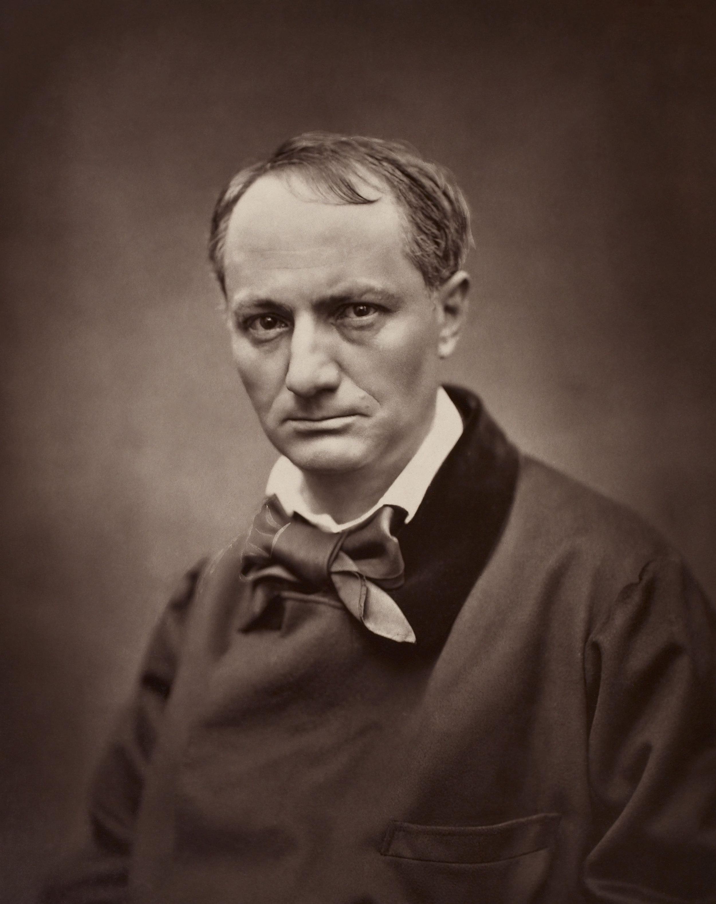 Étienne Carjat,  Charles Baudelaire      - 1863
