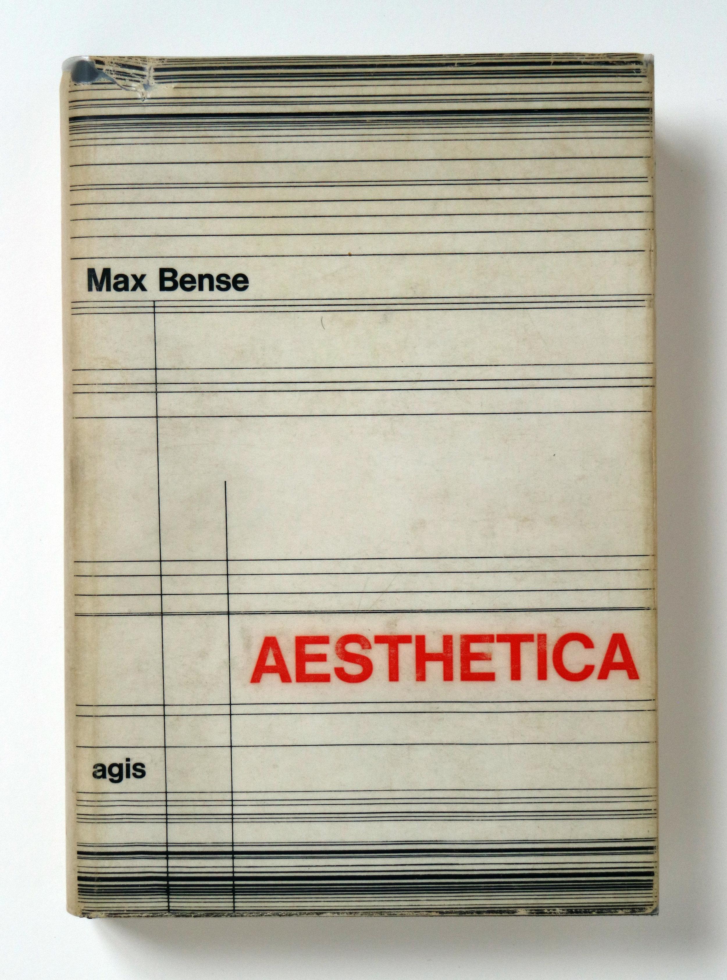 Max Bense:  Aesthetica. Einführung in die neue Ästhetik . Agis Verlag, Baden-Baden, 1965