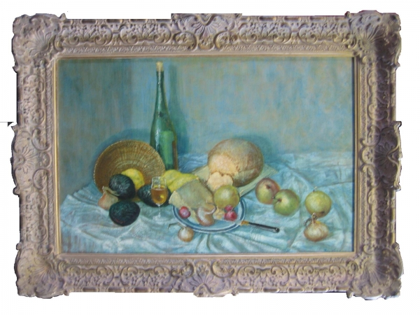 'Still life' in the style of Cézanne by forger Tom Keating