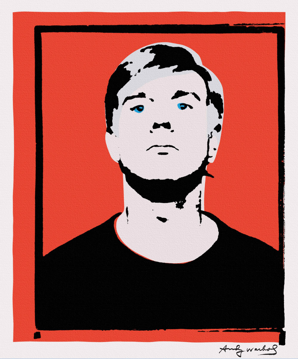 Self Portrait that was central to the law suit leading to the shut down of the Warhol authentication board