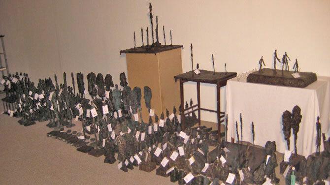 Cache of Giacometti forgeries