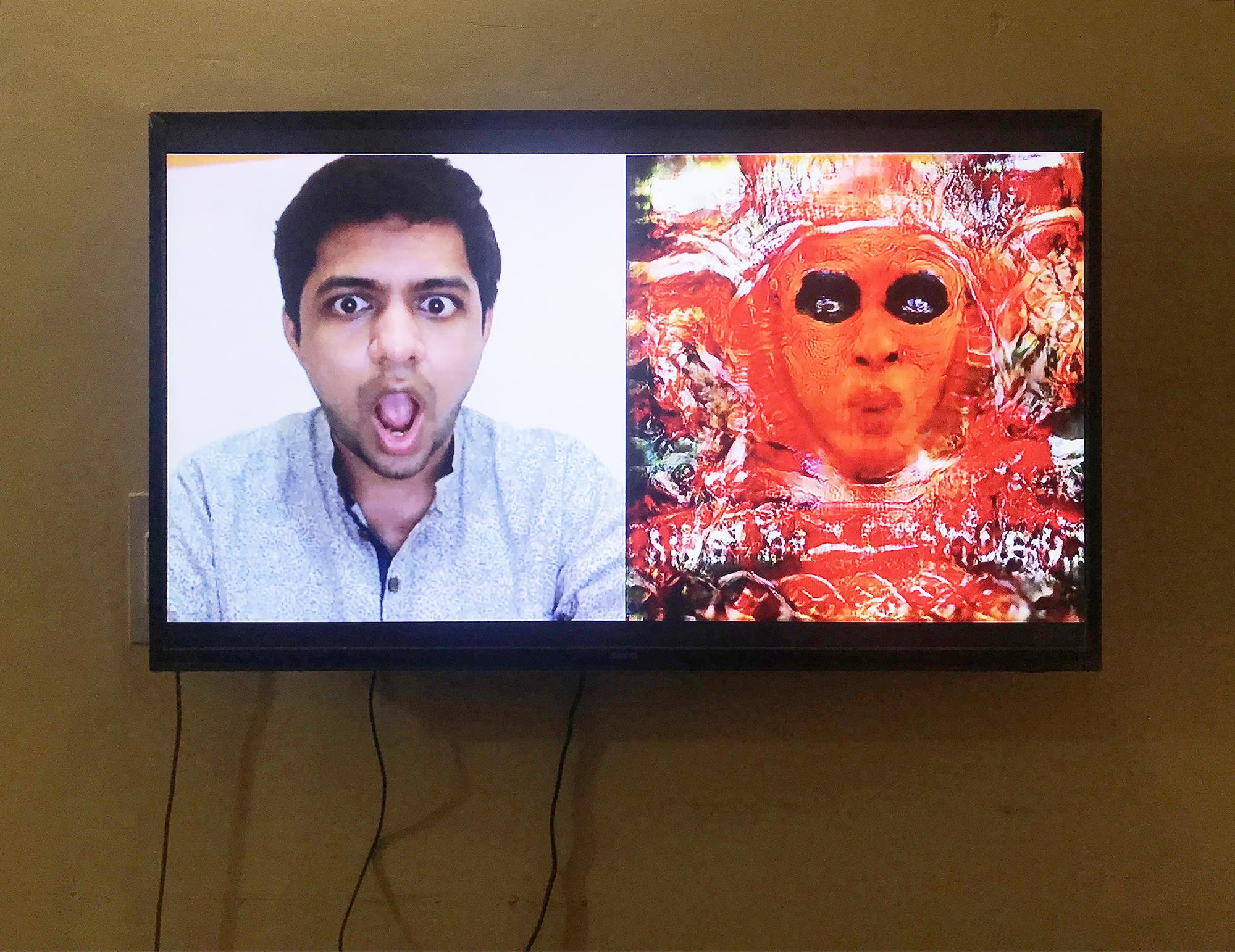 Harshit Agrawal,  Masked Reality  - 2018