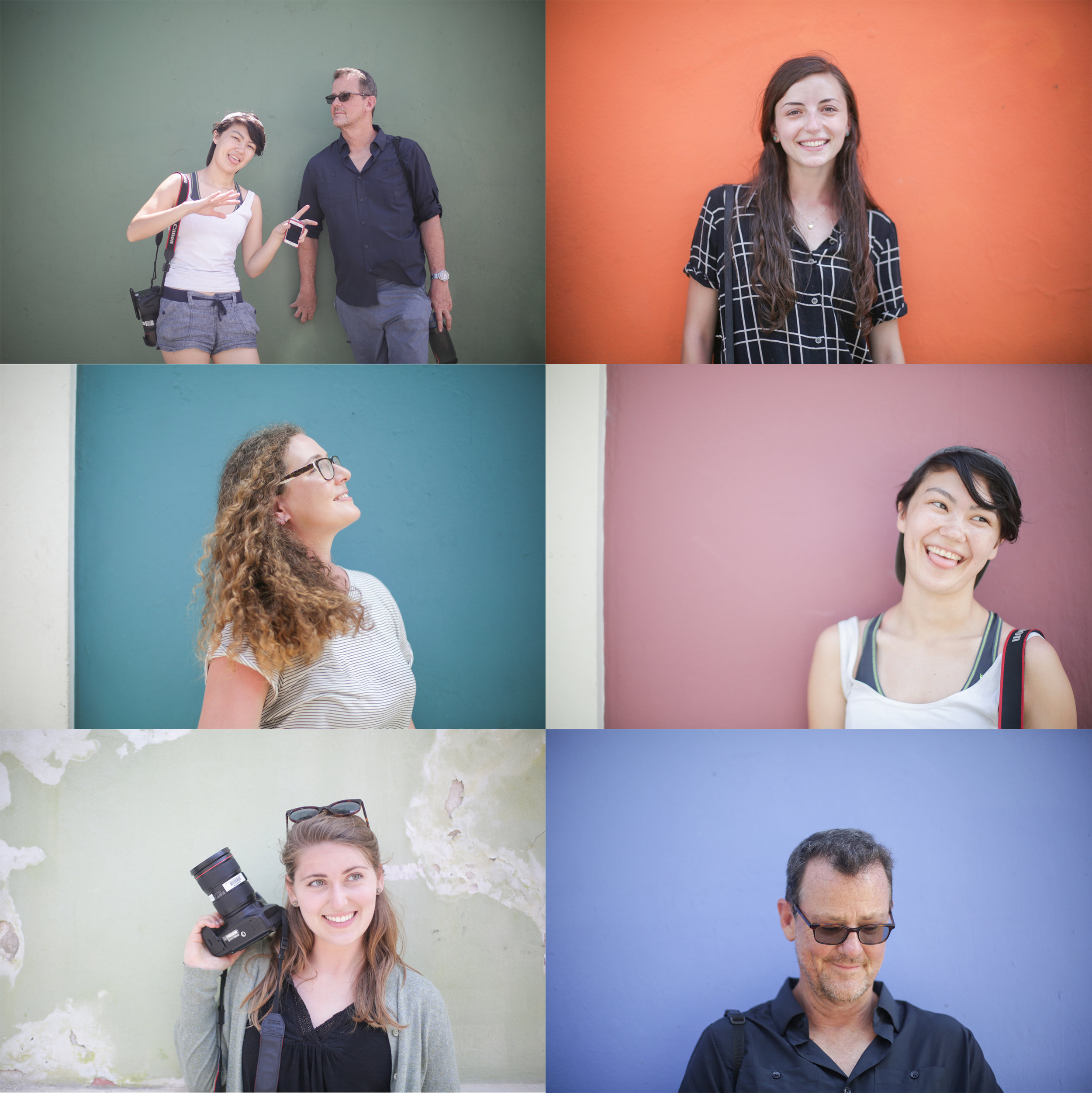 I took my MEJO584 classmates' portraits during our trip to Puerto Rico March 9 to March 17, 2018. These portraits were specifically taken in Old San Juan.