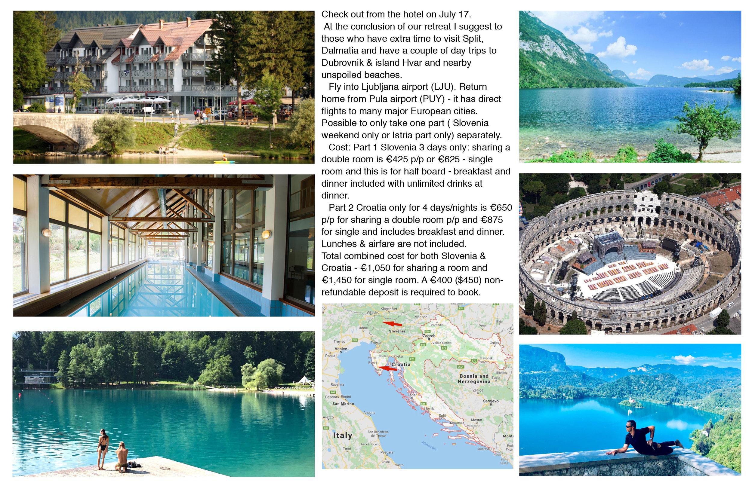 Slovenia and Croatia Flyer