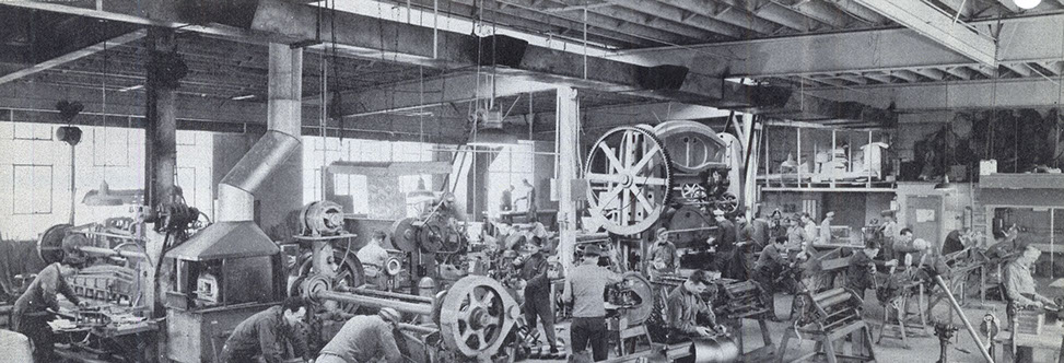 Shop Filled with Machinery