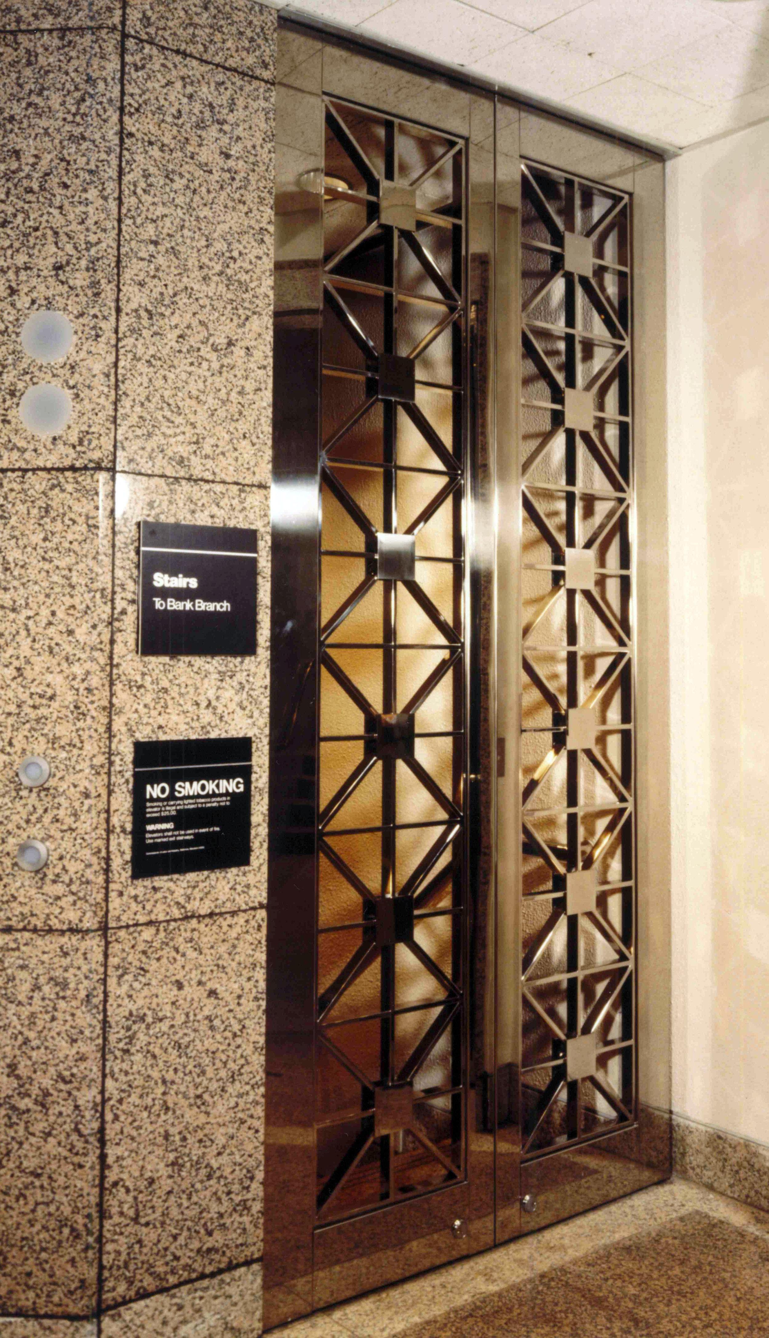 SS Bi-fold Vault Doors