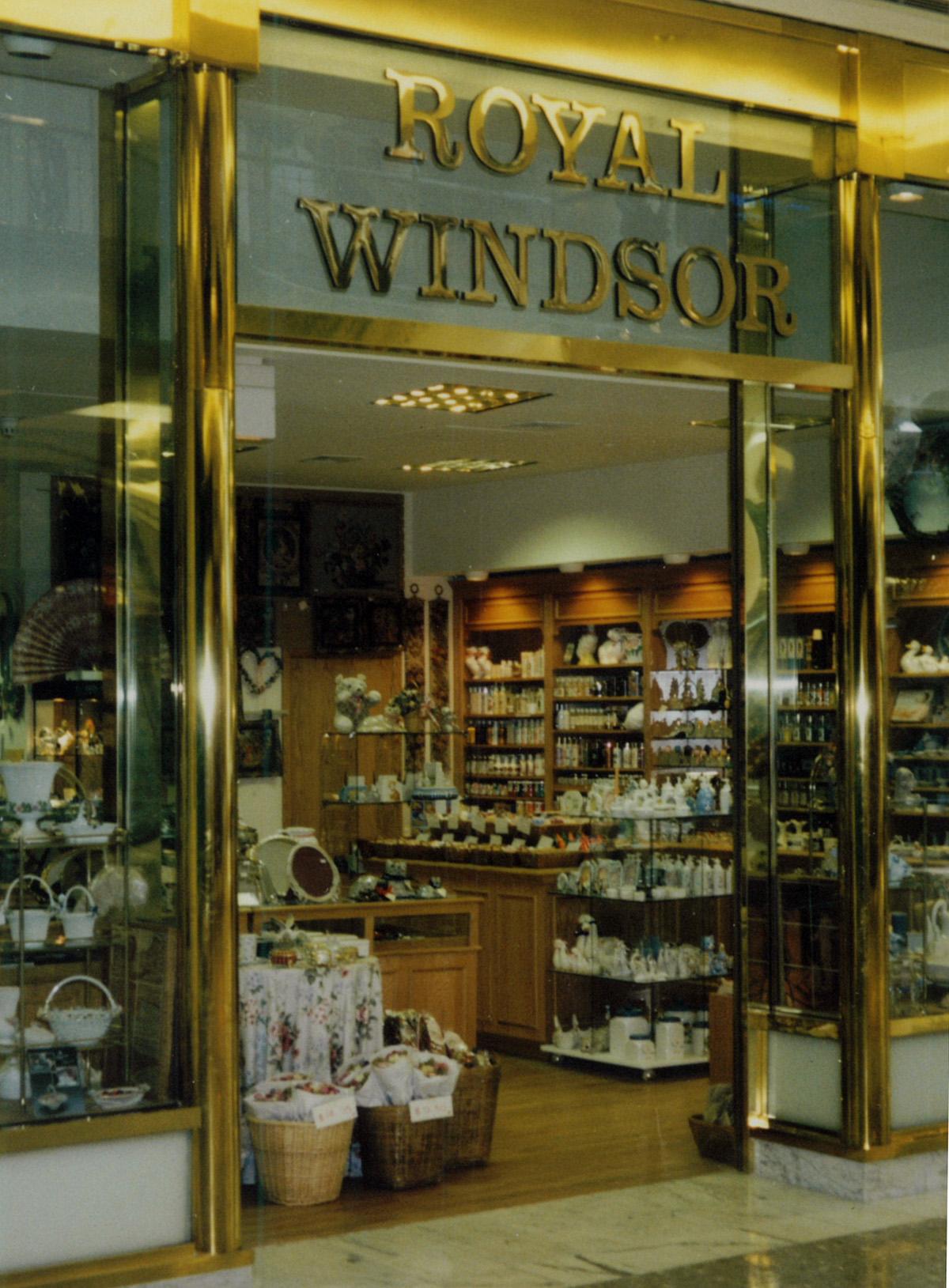 Polished Brass Storefront