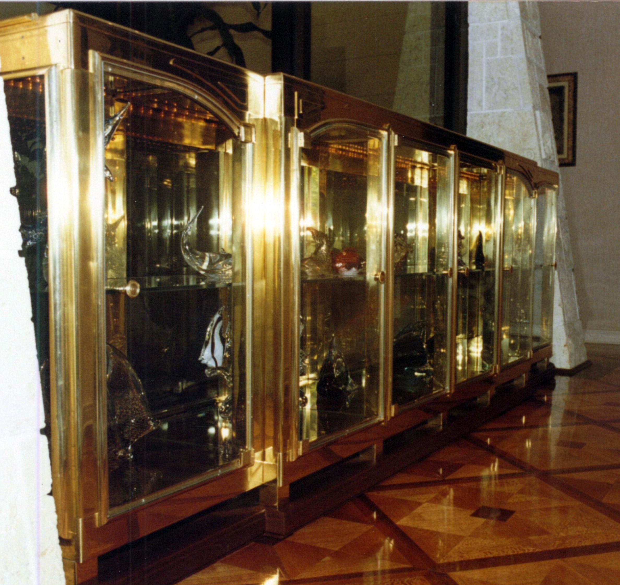 Solid Brass Cradenza