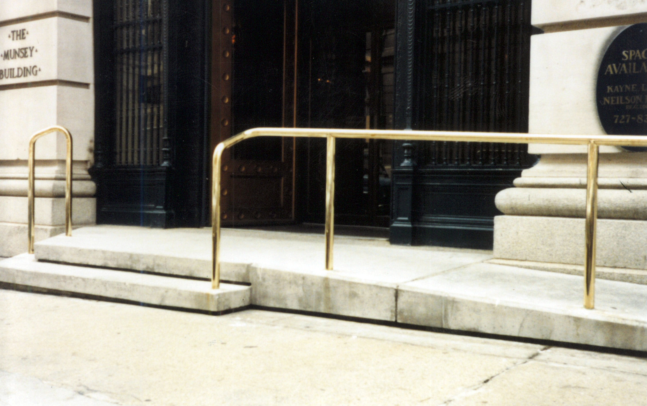 Polished Brass Railing