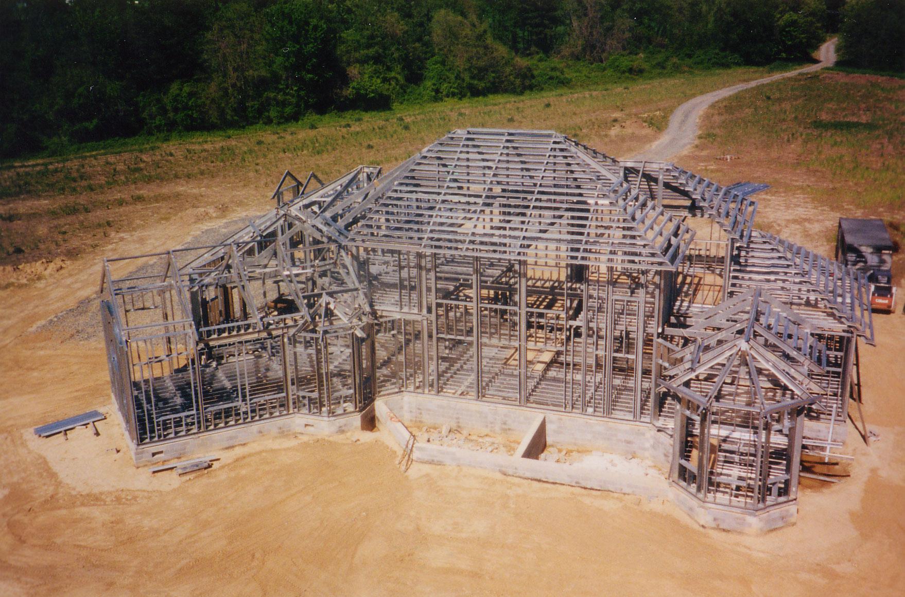 Steel House Frame