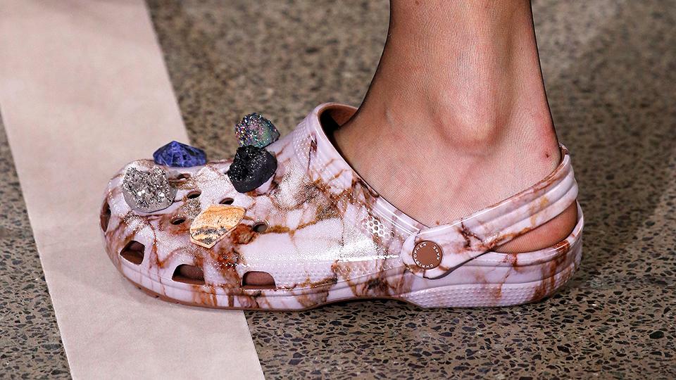 Crocs at Christopher Kane.