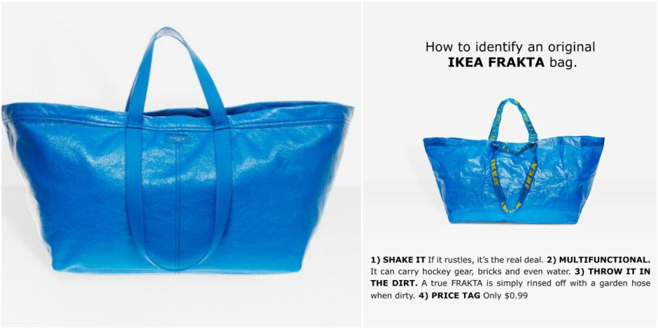 How to identify an original IKEA bag.