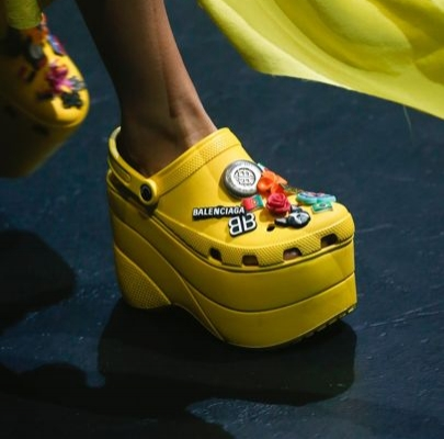 Crocs at Balenciaga.