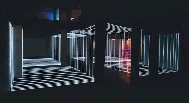 @meaganstreader response VI (partition II)✨ #lightinstallation #scenography #art #light #design #installation