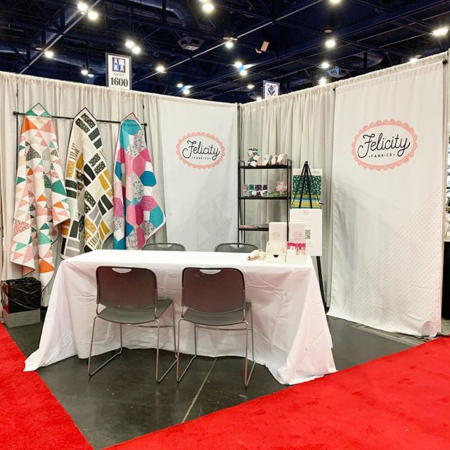 Open for business! Visit us at 1543 #quiltmarket