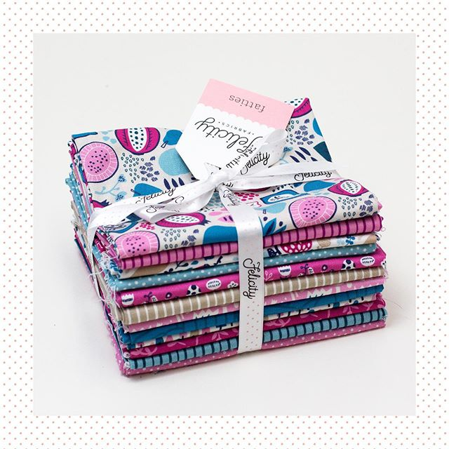 Coming March 2020 — Burgess Fields In Petunia.⁣ ⁣ Designer — Feena Brooks @feenabrooks #thejoyoffabric