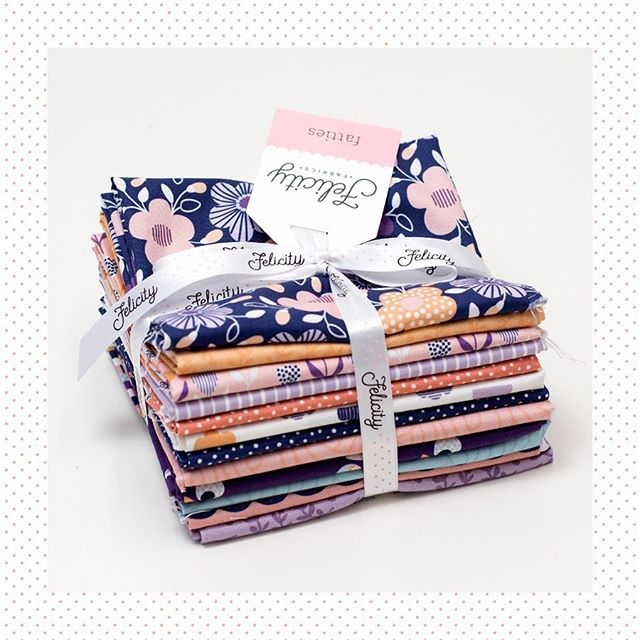 Coming March 2020 — Dotty Flora in Taffy.⁣ ⁣ Designer — The Tiny Garden @thetinygarden.design #thejoyoffabric