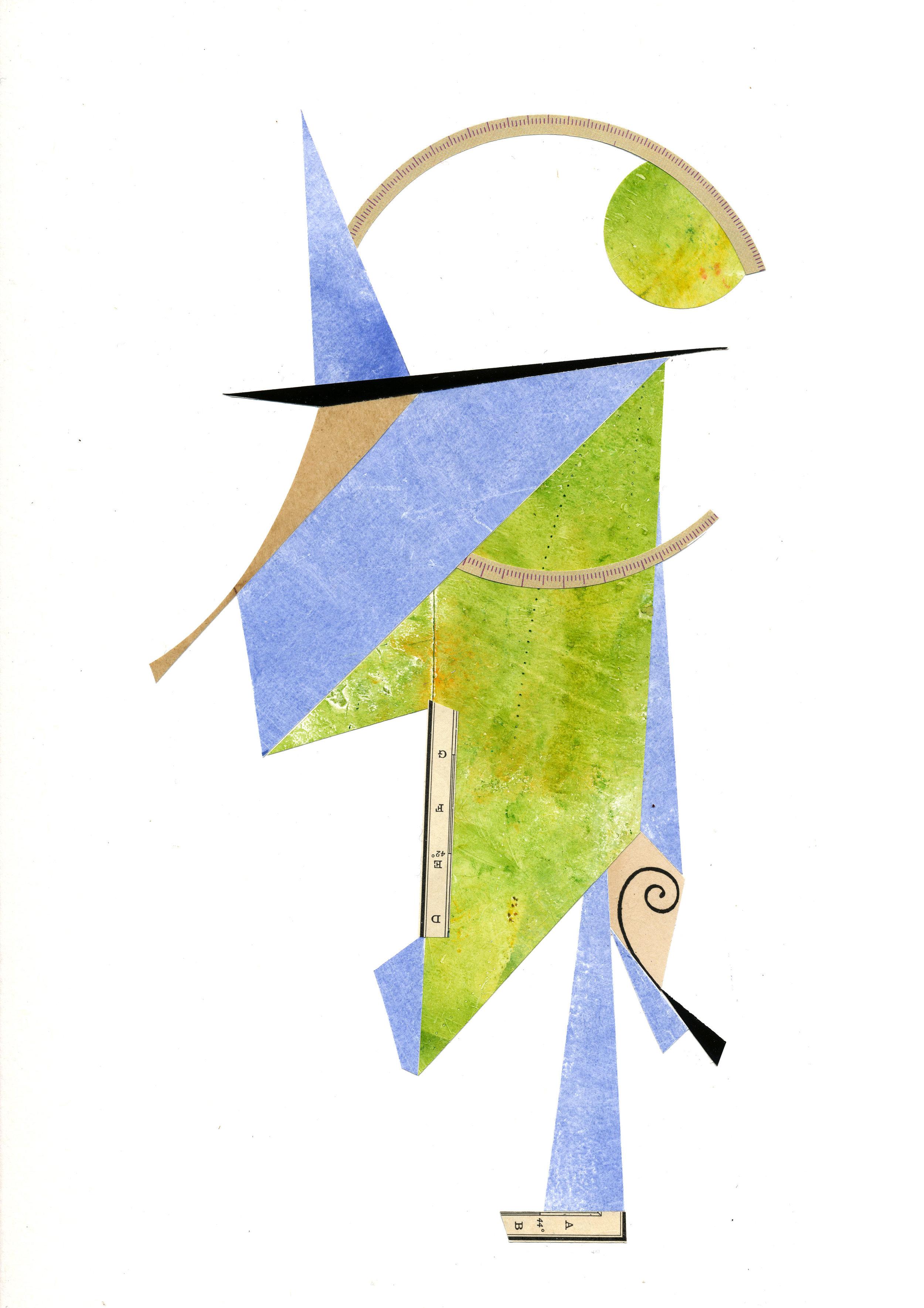 Arrival No. 1 , 11 x 14, Paper