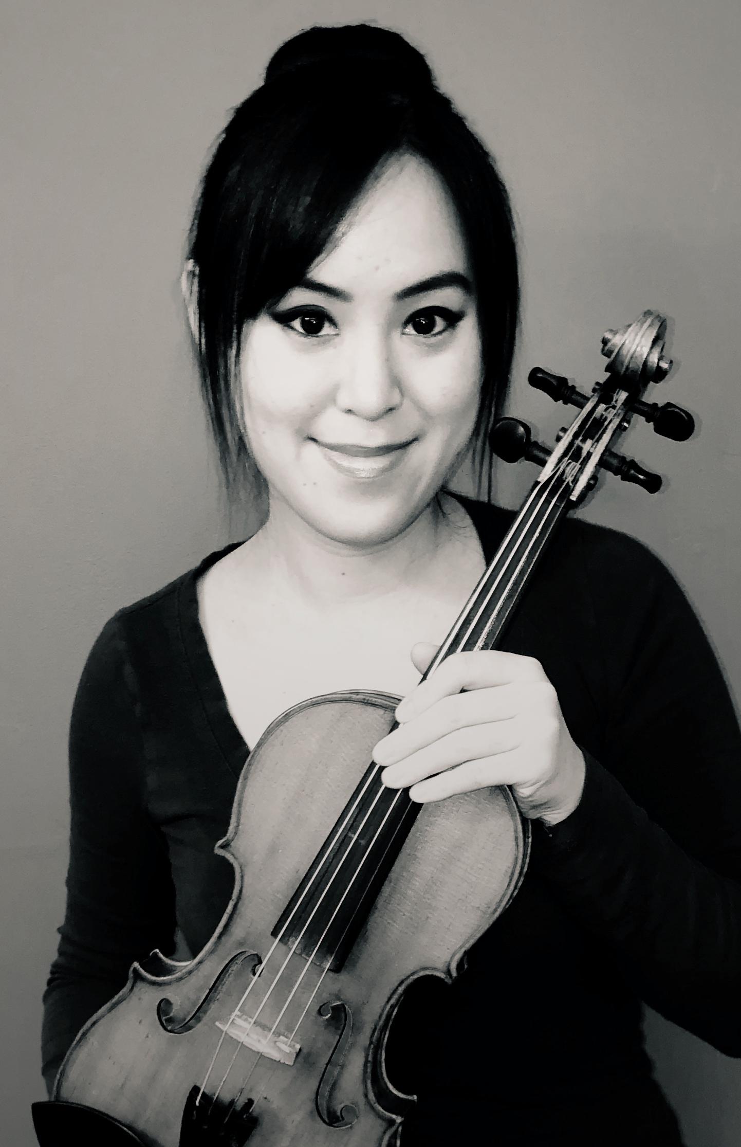 Patricia Wang, violin