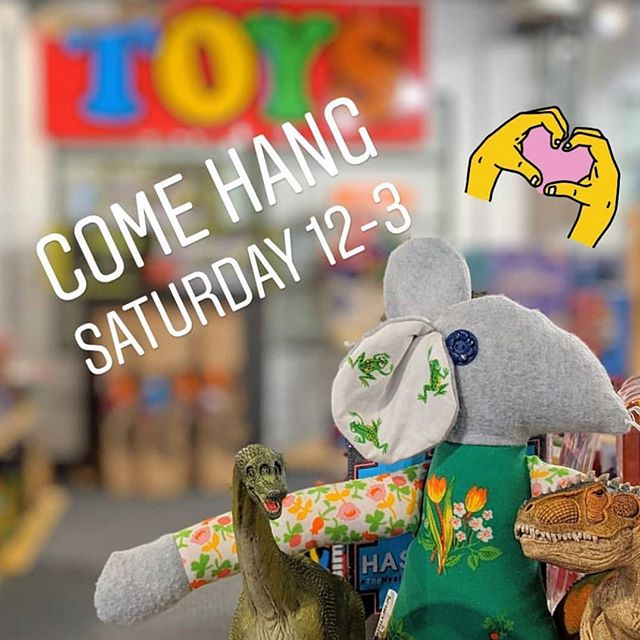 Don't miss Sparky's grand reopening celebration today! There will be face painting, slime making and raffles, oh my! 12-3pm! 🤩💖🦄🌈🎉🎈 • • • • #repost #sparkystoyshop #honeymoonpie #toysofinstagram #winkyrats #shoplocal